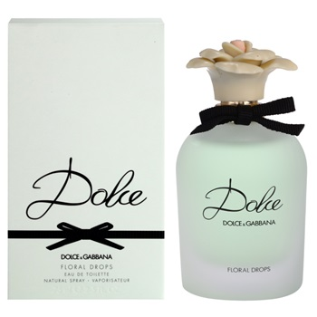 正規品【Dolce & Gabbana】Dolce Floral Drops EDT SP 75ml WOMEN'S【ドルチェ&ガッバーナ】ドルチェ フローラル ドロップス オードトワレスプレー 75ml [香水・フレグランス:フルボトル:レディース・女性用]【D&G】