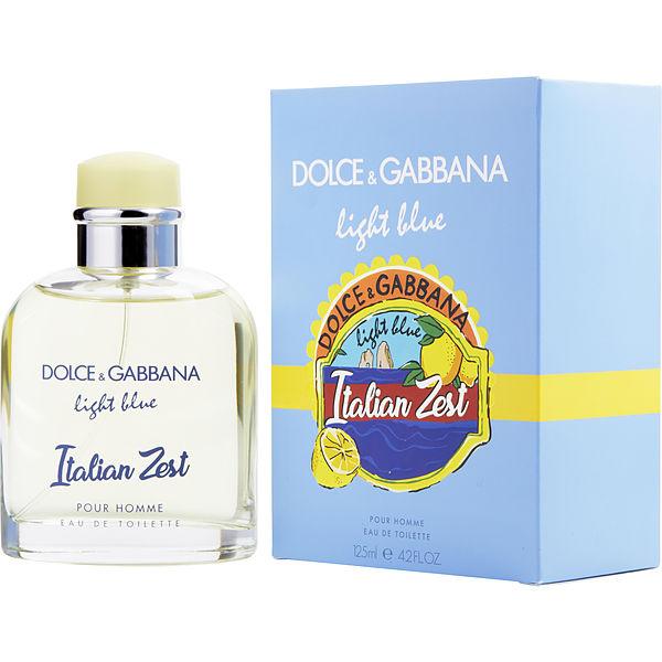 正規品【DOLCE & GABBANA】Light Blue Italian Zest Pour Homme EDT SP 125ml【ドルチェ&ガッバーナライトブルー イタリアンゼスト プールオム オードトワレ 125ml【香水・フレグランス:フルボトル:メンズ・男性用】【D&G香水】【LIGHT BLUE SUN】
