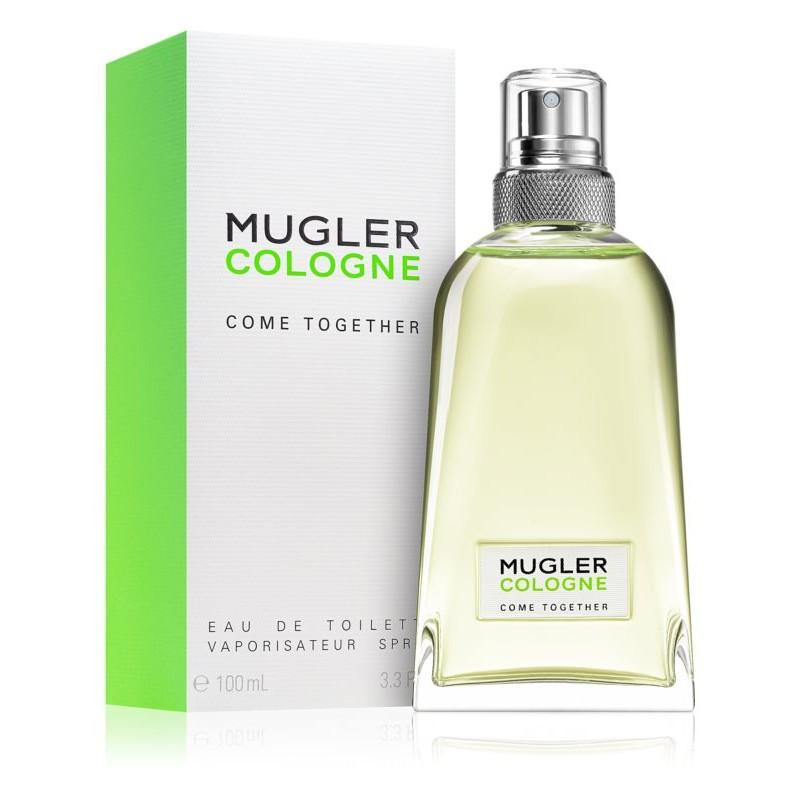 日本未発売!正規品【THIERRY MUGLER】Mugler Cologne Come Together EDT・SP 100ml Unisex (Green)【テュエリーミュグレー】ミュグレーコロン カム トゥゲザー オードトワレ 100ml (グリーン)【ユニセックス・UNISEX・香水・フレグランス】