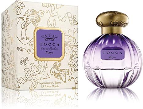 TOCCAのフレグラスラインであるTOCCA BEAUTY クラシックな香りにアクセントを効かせた 独創的で上品な香り 正規品 Tocca Maya EDP 50ml WOMEN'S 日時指定 トッカ 香水 フレグランス:フルボトル:レディース tocca マヤの香り 新作通販 スプレータイプ 女性用 マヤ 人気 オードパルファム TOCCA香水