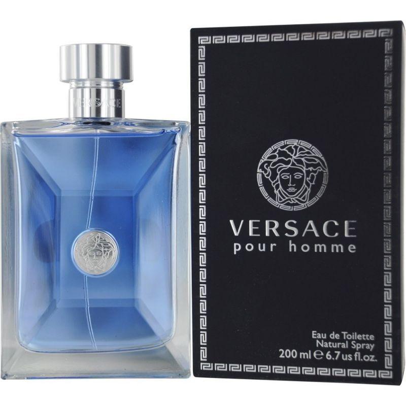 正規品【Versace】Pour Homme EDT 200ml FOR MEN 【ヴェルサーチ】プールオム オーデトワレ 200ml【香水・フレグランス:フルボトル:メンズ・男性用】【ヴェルサーチ プールオム】【ヴェルサーチ 香水】