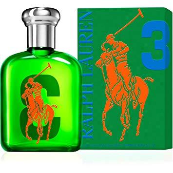 ★あす楽★今後入荷なし!【Ralph Lauren】Big Pony #3 GREEN EDT SP 75ml for Men正規品【ラルフローレン】ビッグポニーコレクション #3 グリーン EDT 75ml【男性用香水 メンズ香水 フレグランス ブランド ラッピング可能】【POLO香水】