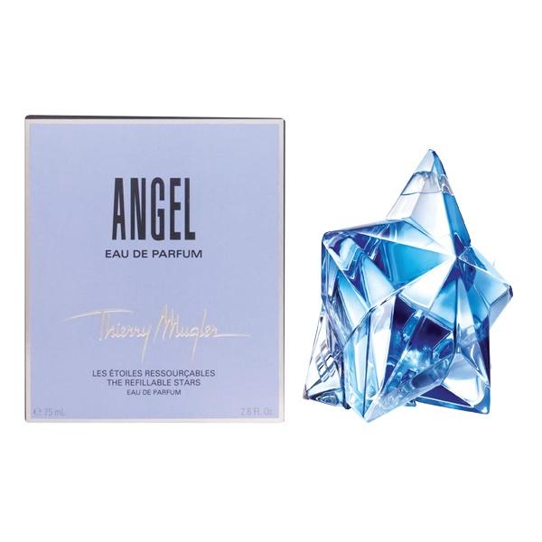 正規品【THIERRY MUGLER】ANGEL(Refillable Star) EDP SP 75ml WOMEN'S【テュエリーミュグレー】エンジェル (レフィラブル) オードパルファム 75ml [香水・フレグランス:フルボトル:レディース・女性用]