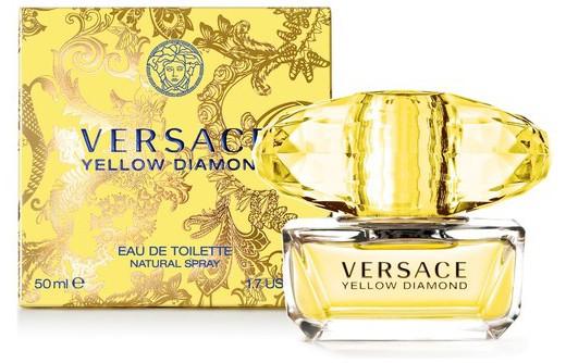 正規品【VERSACE】Versace Yellow Diamond EDT 50ml WOMEN'S【ヴェルサーチ】イエローダイヤモンド オードトワレ 50ml【香水・フレグランス:フルボトル:レディース・女性用】【イエローダイヤモンド 香水】【ヴェルサーチ香水】