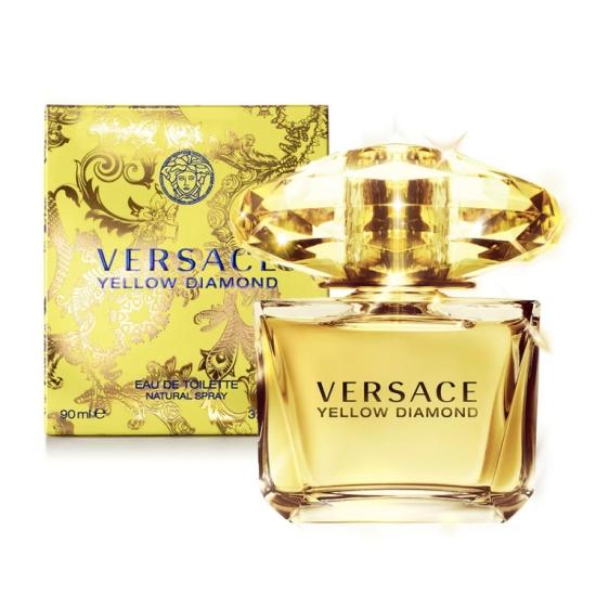 正規品【VERSACE】Versace Yellow Diamond EDT 90ml WOMEN'S【ヴェルサーチ】イエローダイヤモンド オードトワレ 90ml【香水・フレグランス:フルボトル:レディース・女性用】【イエローダイヤモンド 香水】【ヴェルサーチ香水】