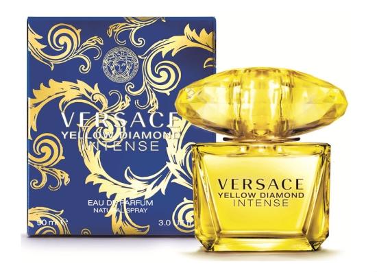 正規品【VERSACE】Yellow Diamond Intense EDP 90ml WOMEN'S【ヴェルサーチ】イエローダイアモンド インテンス オードパルファム 90ml【香水・フレグランス:フルボトル:レディース・女性用】【イエローダイアモンド インテンス】【ヴェルサーチ香水】
