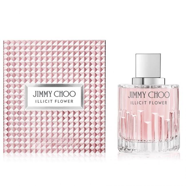 正規品【JIMMY CHOO】Jimmy Choo Illicit Flower EDT 100ml FOR WOMEN【ジミー チュウ】イリシット フラワー EDT 100ml[香水・フレグランス:フルボトル:レディース・女性用]