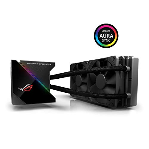 品揃え豊富で ASUS 90RC0030-M0UAY0 ROG Ryujin 240 All-In-One Liquid CPU Cooler With Live Dash Colour OLED - Black, ARTIF 894e29ba