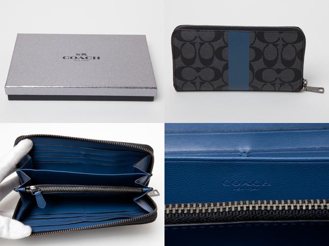 有教练COACH小东西(钱包)礼物BOX的shigunechaakodionjippuaraundo&键环礼物安排f64479eho wallet