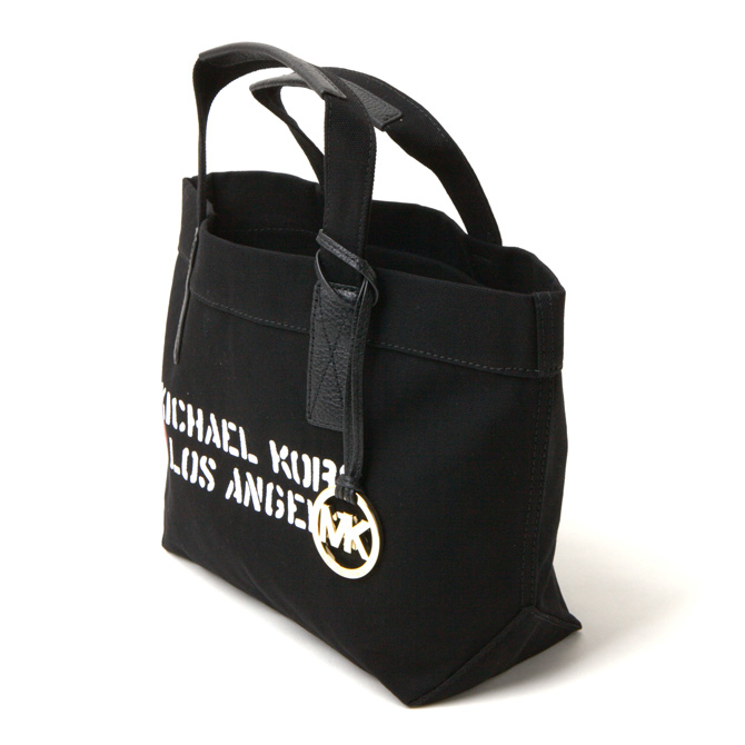 Michael Kors mini-tote bag CITY TOTE SM TOTE LOS MICHAEL KORS TOTE  35t7mt2t1r black is impossible of lapping
