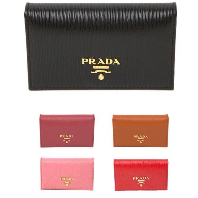 プラダ カードケース PRADA VITELLO 1mc122 MOVE 売却 待望 名刺入れ サフィアーノ