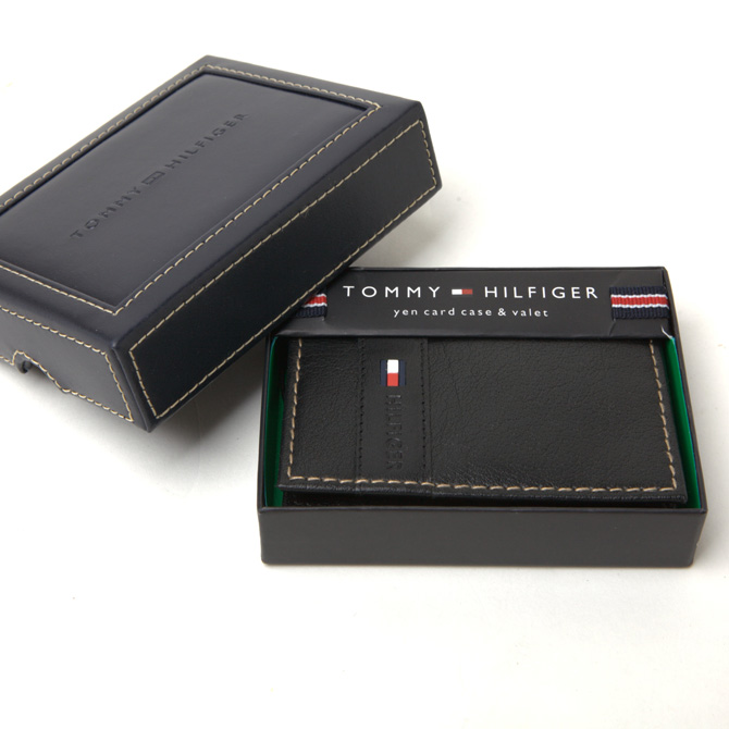 トミーヒルフィガー 財布 メンズ TOMMY HILFIGER 名刺入れ カードケース 31tl200011