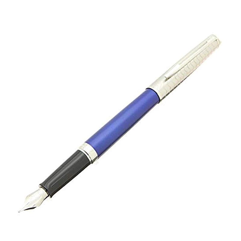 ウォーターマン Waterman メトロポリタン デラックス ブルーウェーブCT 万年筆 筆記用具 ペン先:F 2048928