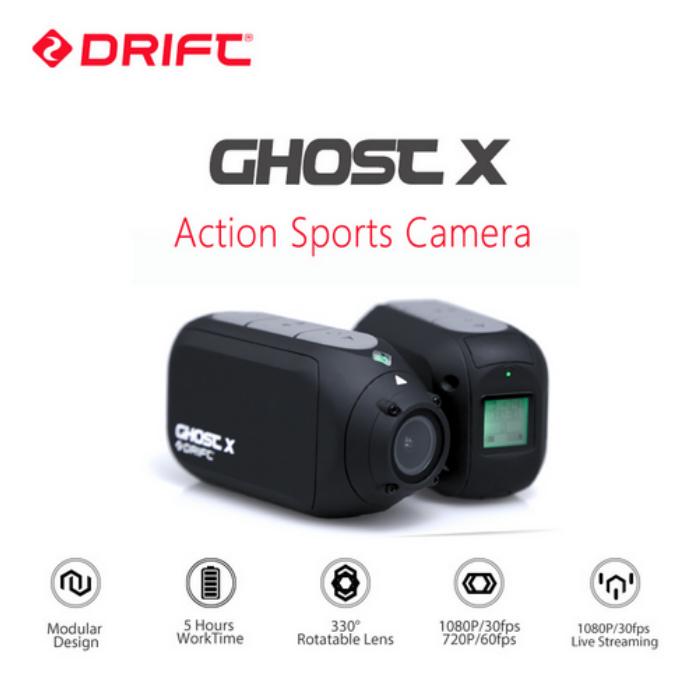 【国内在庫あり】DRIFT GHOST X ドリフト ゴースト アクションカメラ