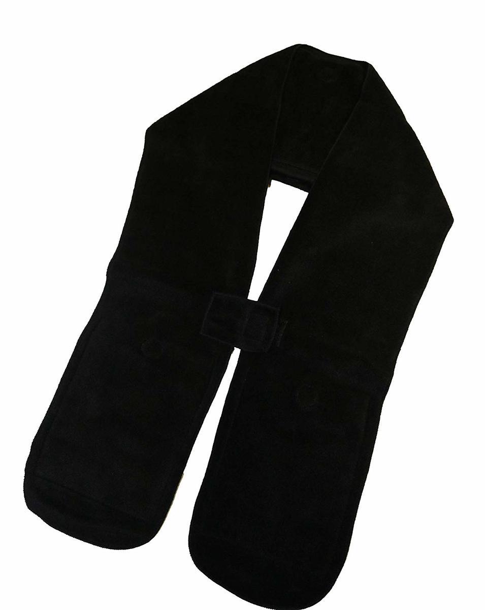 ほっとストール 男女兼用・フリーサイズ  使い捨てカイロ用ポケット付防寒マフラー
