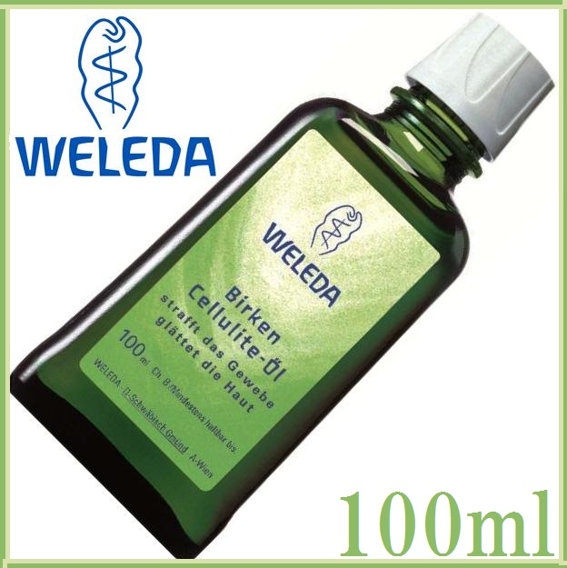"A white weleda Birch body shape oil 100 ml [body massage oils» ""7611916124013"""