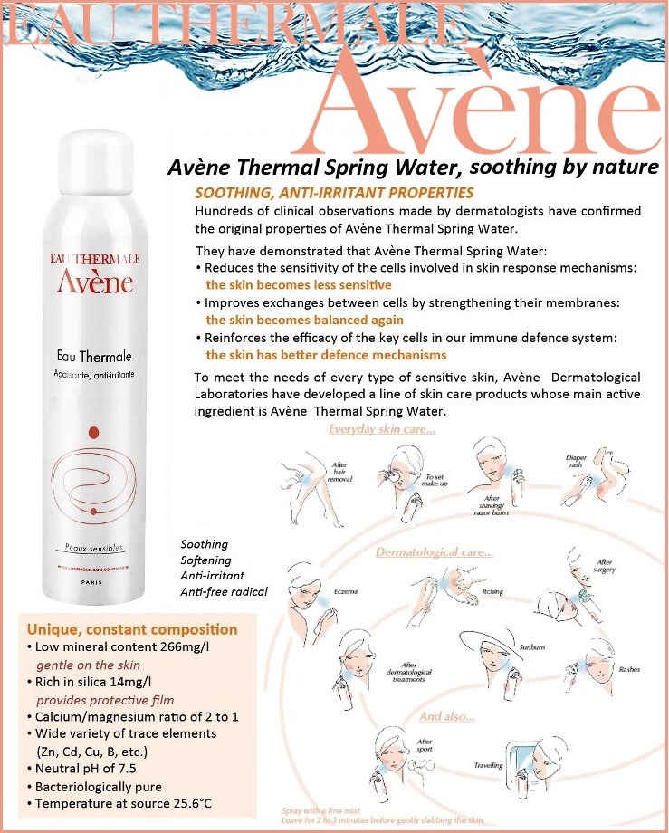 Avene Water 300ml×4P≪Lotion≫『3282779003131』