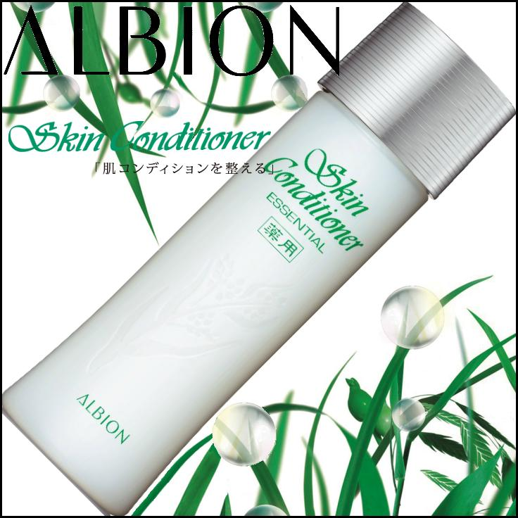 Albion medicated Skin Conditioner Essential 110ml×3p≪Face Lotion≫『4969527118253』