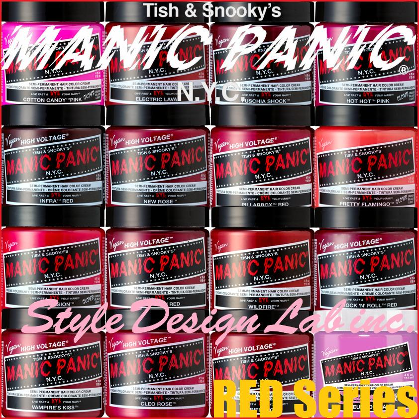 Manic Panic An 118 Ml Red System Hair Color