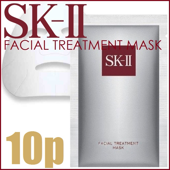 "Max SK2 facial treatment mask 10 sheets, no box «moisturizing mask» ""4580366699446"""