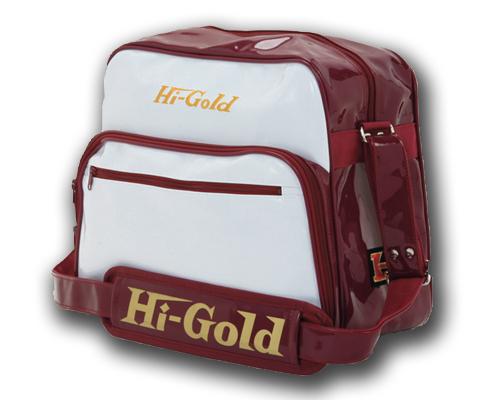 ハイゴールドエナメルショルダーバッグ