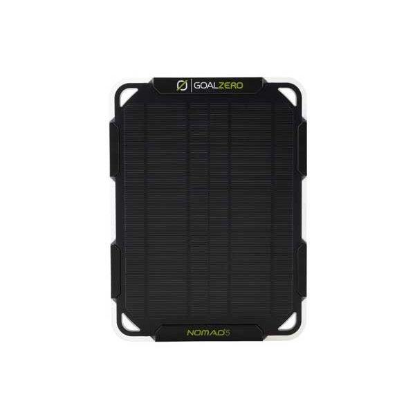 送料無料 Goal Zero Nomad 5 Solar Panel ソーラーパネル 防災アウトドアノマドファイブソーラーパネル小型 軽量 ソーラーパネル