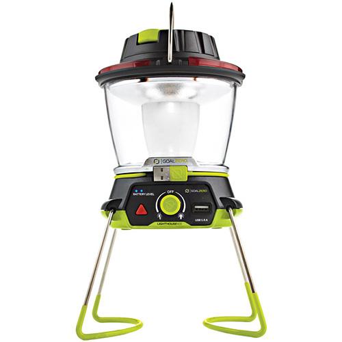送料無料 Goal Zero LIGHTHOUSE 400 USB充電式LEDランタン 400ルーメン モバイルバッテリ機能付 ライトハウス400 手回し発電付 防災
