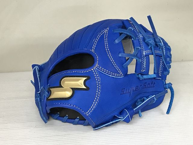 SSKエスエスケイ軟式野球少年用オールラウンド用グラブジュニアSSJ741Fブルー