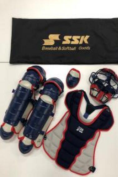 SSKエスエスケイ少年用軟式カラーコンビキャッチャーズ4点+1セットCGSET20JNC少年軟式用キャッチャーズ4点セット(専用バック付)