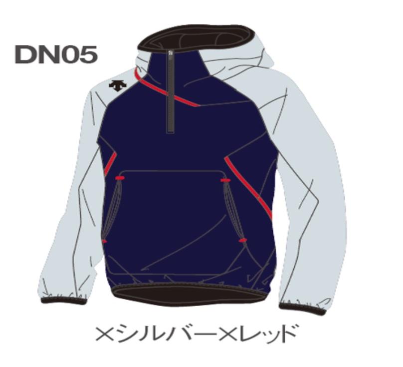 DESCENTE デサント カスタムオーダーフリースジャケット別注品フリースジャケットCDBF2360B