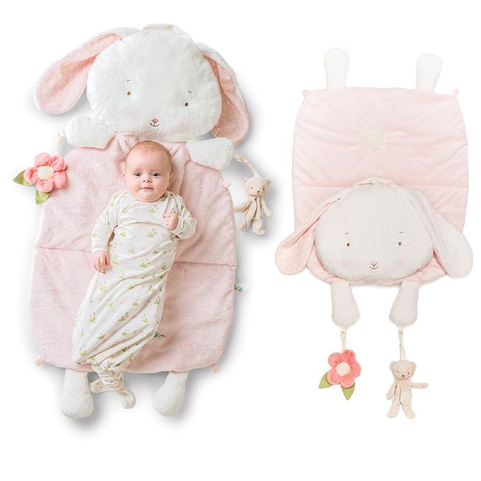 Bunnies By The Bay日本正規代理店うさぎのまくらのプレイマット(出産祝い ブランケット baby 毛布 ギフトぬいぐるみ)