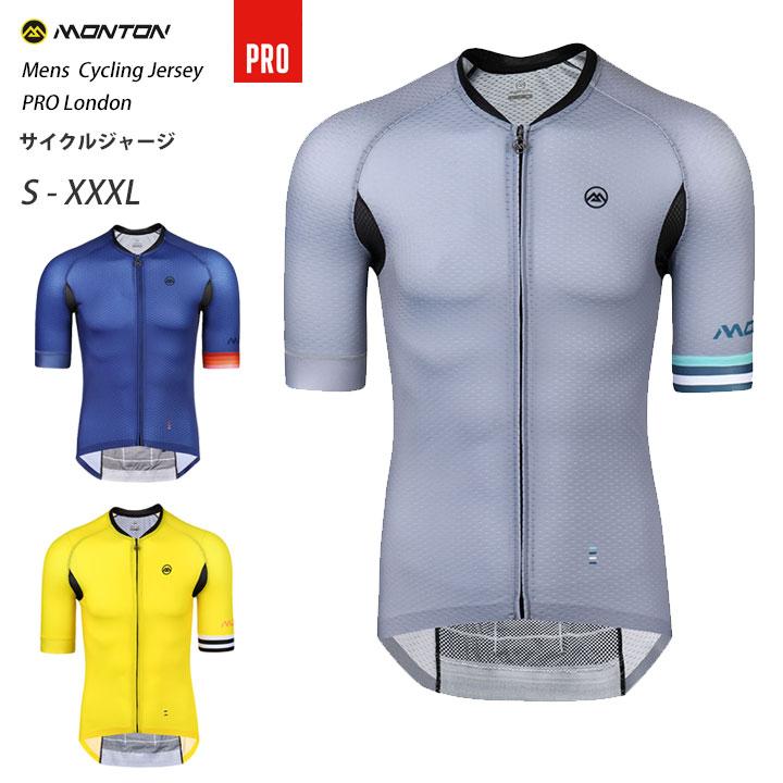 Monton[モントン]半袖サイクルジャージプロモデル[自転車用/メンズ]PRO London 男性用 取り寄せ品【店頭受取対応商品】