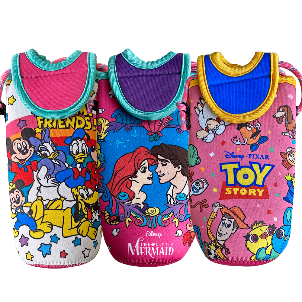 記念日 ディズニー リトルマーメイド トイストーリー ペットボトルホルダー ミッキー ドリンクホルダー Disney 激安通販