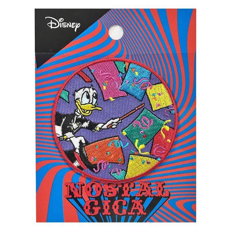 ディズニー ノスタルジカ ワッペン遠い記憶がよみがえるような懐かしい世界観を表現したブランド NOSTALGICA Kiitos 発売元スモール プラネット Disney キートス マジック 新発売 ワッペン スモール ドナルドダック 35%OFF NEW APDS3905N