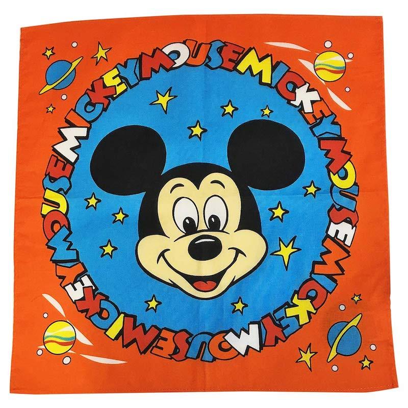 ディズニー ノスタルジカ バンダナ遠い記憶がよみがえるような懐かしい世界観を表現したブランド NOSTALGICA Kiitos 発売元スモール プラネット Disney バンダナ キートス APDS3945N フェイス メーカー公式 スモール ミッキーマウス 新入荷 流行 NEW
