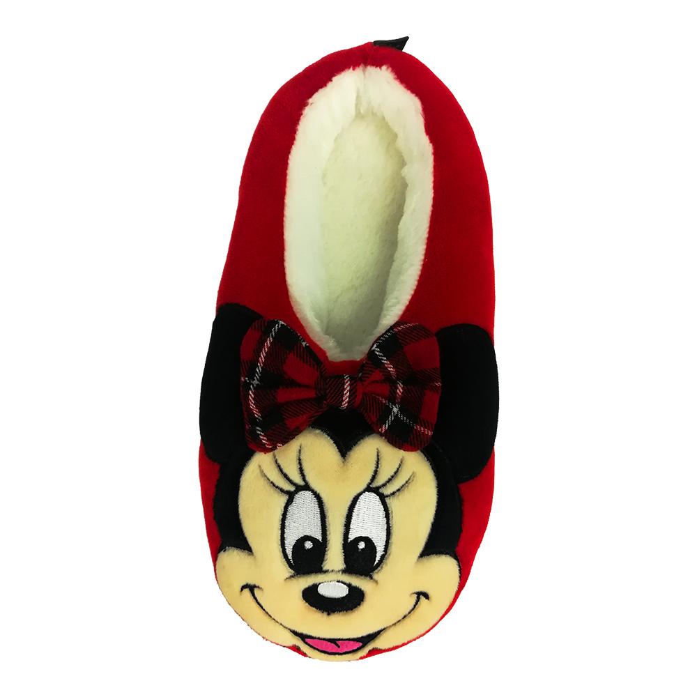 ディズニー ルームシューズ もっちりマシュマロ素材 Disney ルームシューズミニー レッド メーカー再生品 売却 AWDS6092