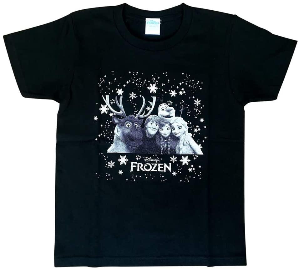 注目商品 Disney アナと雪の女王 2 Tシャツ入荷 (人気激安) AWDSF6308 ディズニー TシャツLアナ雪集合BK SALE 30%OFF いつでも送料無料