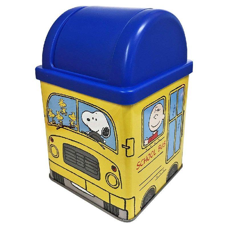 PEANUTS ピーナッツ ミニダストBOX 贈呈 机に置けるサイズがかわいいミニダストボックス ちょっとしたプレゼントとしても最適です Kiitos発売元スモール キートス 驚きの価格が実現 プラネット スクールバス ミニダストボックス Kiitos SNHF2449