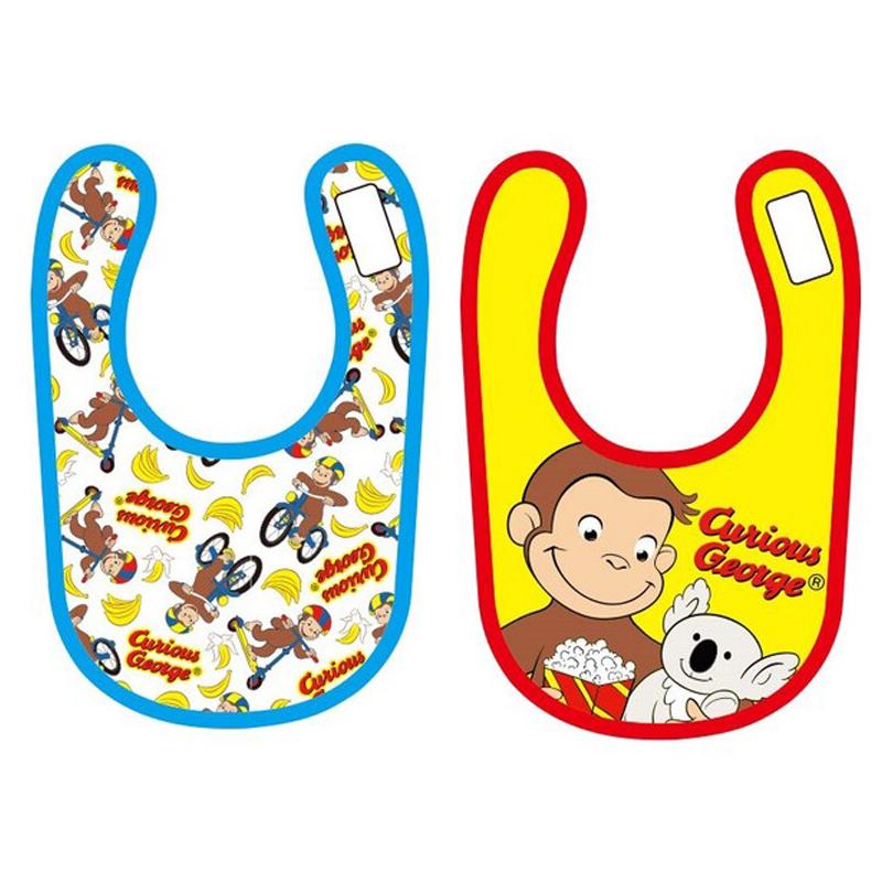 赤ちゃんのよだれかけ おさるのジョージ チラシ CGBB109_CGBB110 コアラ ベビービブ 贈物 売り込み