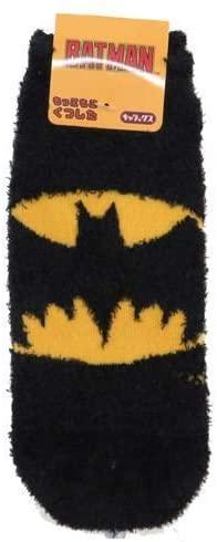 寒い季節にぴったり DCコミックス バッドマン 毎日激安特売で 営業中です お見舞い WBBT352J もっこもこ靴下 マーク