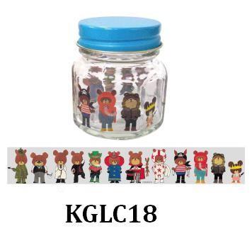 有名な 再入荷 予約販売 ミニ瓶 くまのがっこう ミニびん KGLC18 おにいちゃんたち 角