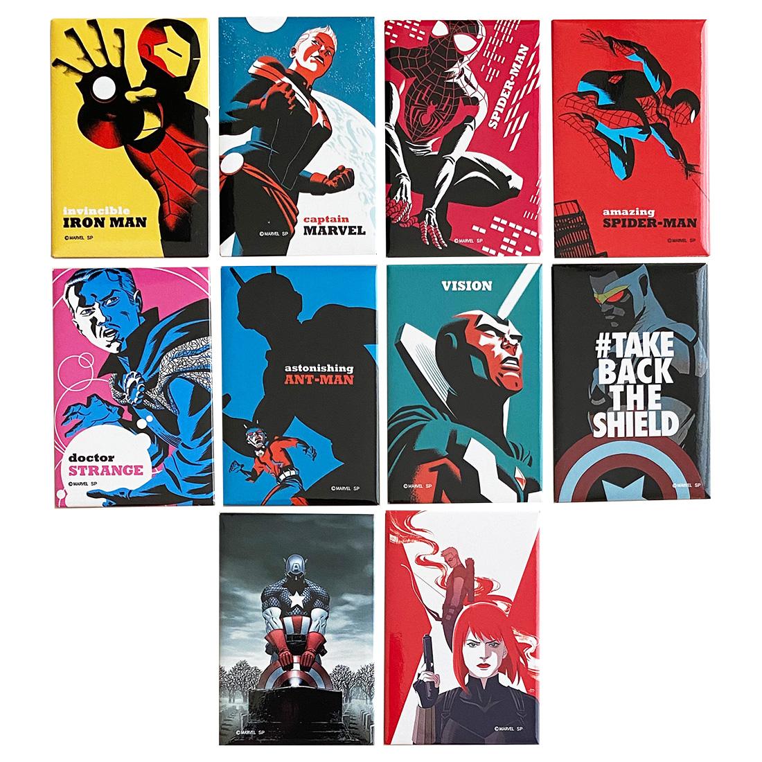 マーベル モダンアート ランダムマグネットコレクション BOX MARVEL 全12種入 入手困難 商品