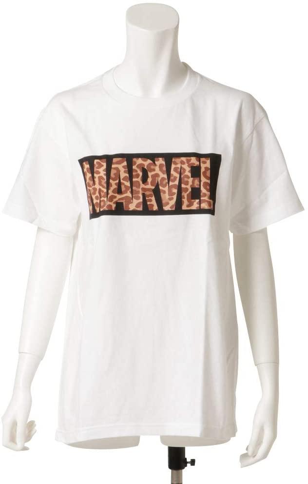 ヒョウ柄×MARVEL SALE 30%OFF MARVEL マーベル WH 有名な ロゴTシャツ レオパード柄 ブラックボックス×レオパードロゴ 爆安プライス SPAP3117-SPAP3118