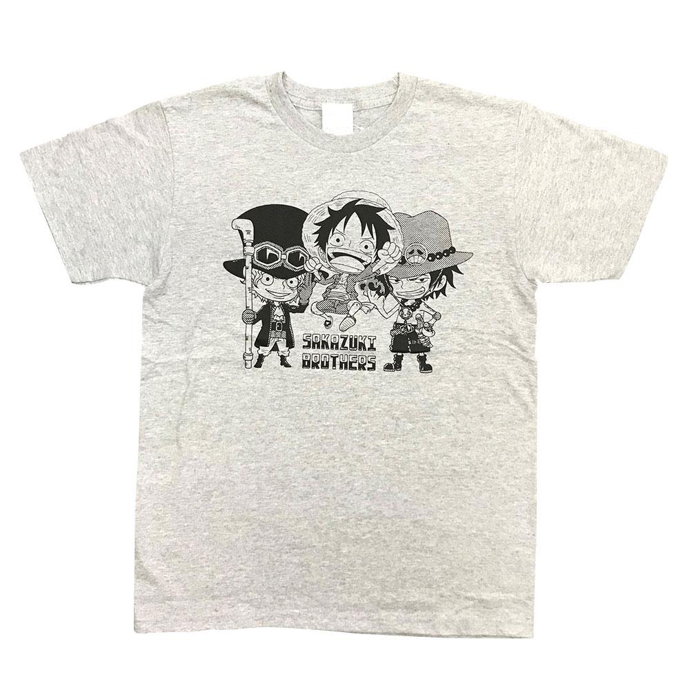 ONEPIECE ワンピース 盃兄弟 T 30%OFF 世界の人気ブランド グレーTシャツ SALE TEOP1237_TEOP1266 新着