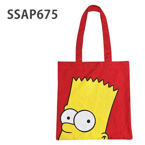 サブバッグにも 休日 The Simpsons ザ SSAP675 タイムセール アップ シンプソンズ カラートート