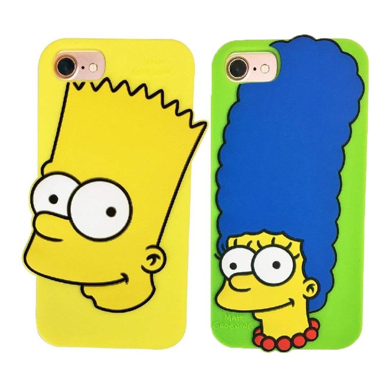 The ※ラッピング ※ Simpsons シンプソンズ iPhoneシリコンケースプレゼントとしても最適です SSPC500Kiitos 発売元スモール プラネット ザ 7 セール開催中最短即日発送 ケース 6s 8 キャラクター シリコン iPhone 6