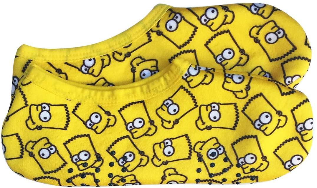 NEW ARRIVAL あったか靴下 The Simpsons ザ 裏ボアソックス 在庫一掃売り切りセール シンプソンズ バートフェイス SSSOC604