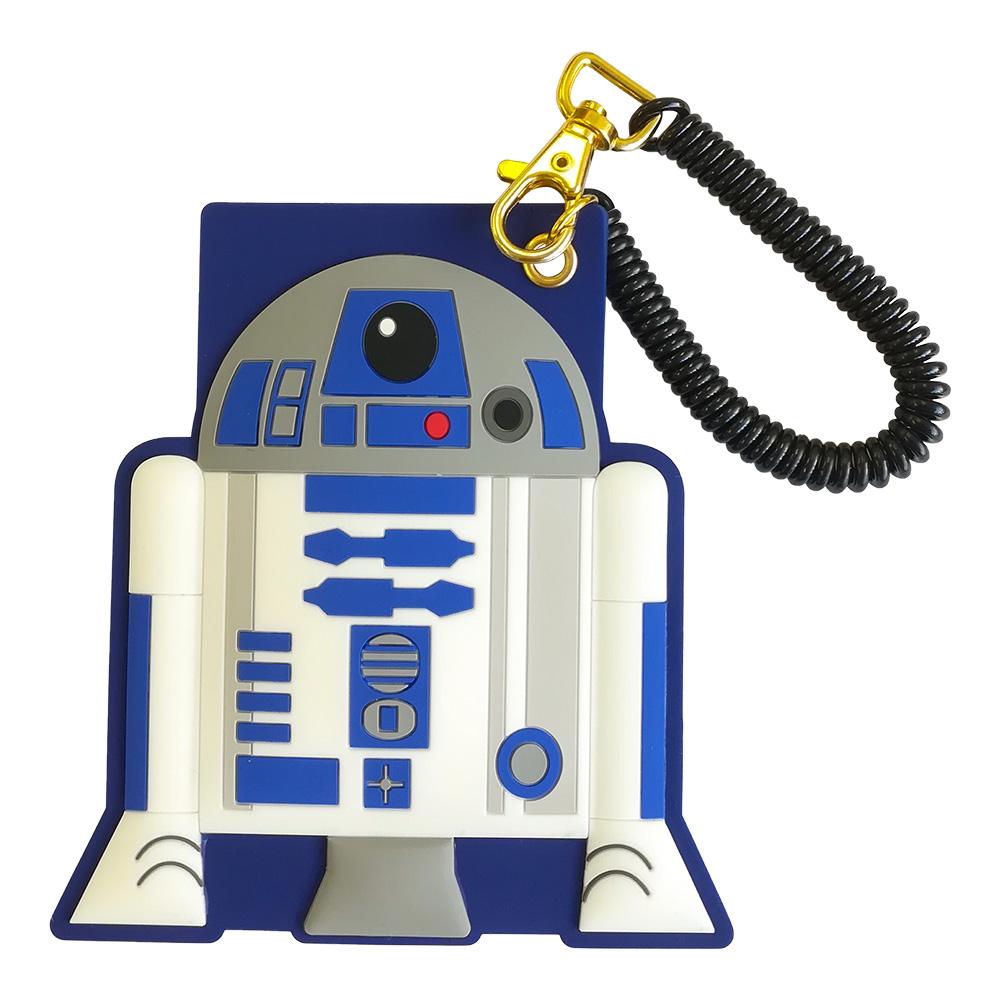 大ヒット映画スター ウォーズから新作アイテムが登場 完全送料無料 STAR WARS スター SWAP1040 ウォーズ ICカードケース R2D2 国際ブランド
