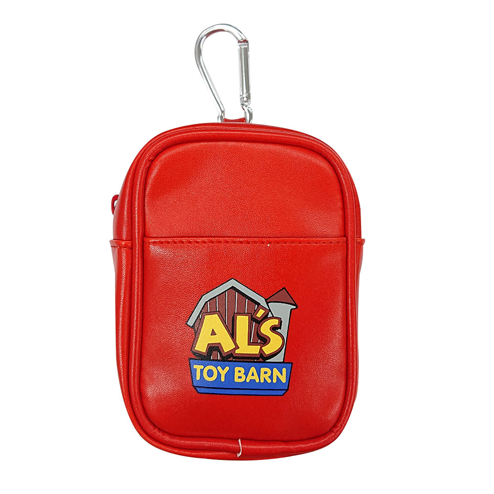 TOYSTORY 即納 Al's Toy Barn 合皮ポーチロゴ 公式ストア Disney ストーリー トイ ディズニー