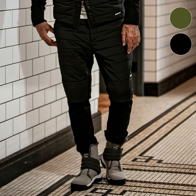 1PIU1UGUALE3 RELAX ウノピゥウノウグァーレトレ 中綿 ドッキング パンツ メンズ ズボン ボトムス スウェット おしゃれ かっこいい ブランド 部屋着 ウェア ウノピュウ